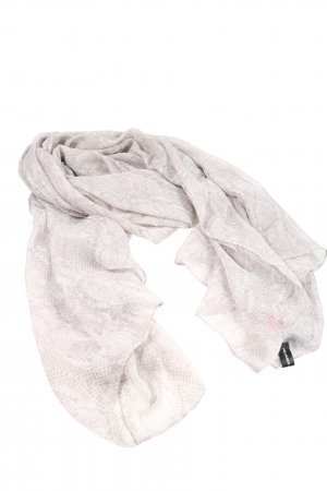 Hallhuber Shoulder Scarf light grey themed print casual look