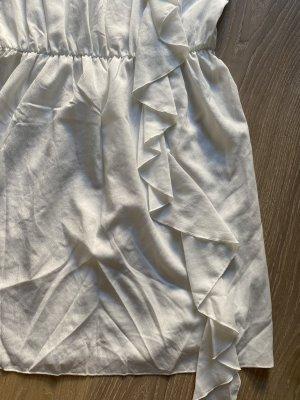 Hallhuber Seiden Kleid mit Stickerei gr. 38