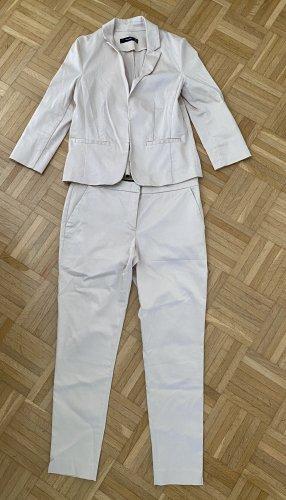 Hallhuber Costume business blanc cassé
