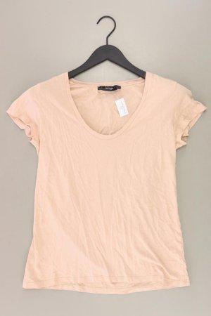 Hallhuber Shirt Größe M braun aus Baumwolle