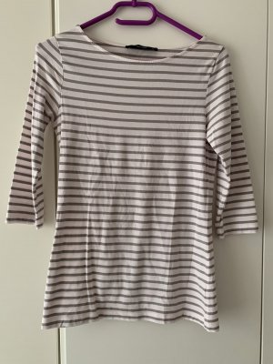 Hallhuber Stripe Shirt white-grey