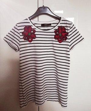 hallhuber shirt mit bestickung gr 36