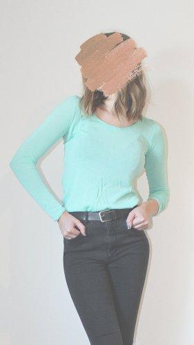 Hallhuber Shirt // turquoise // S