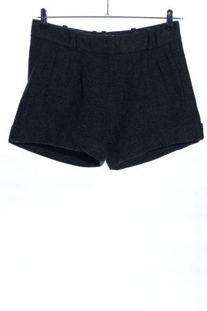 Hallhuber Shorts schwarz meliert Casual-Look