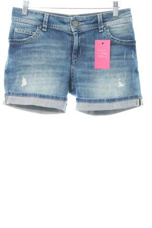 Hallhuber Shorts blau Casual-Look