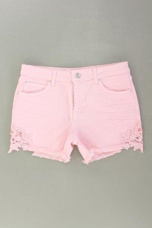 Hallhuber Shorts Größe 38 pink aus Baumwolle