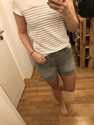 Hallhuber shorts in grau