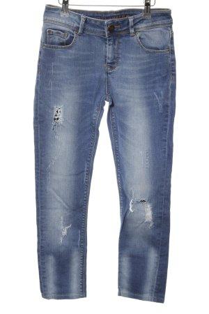 Hallhuber Skinny Jeans blau Casual-Look