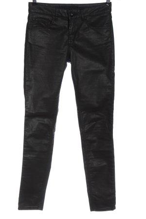 Hallhuber Jeans skinny noir style décontracté