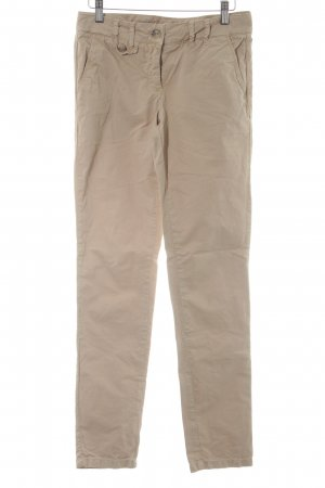 Hallhuber Skinny Jeans camel Casual-Look