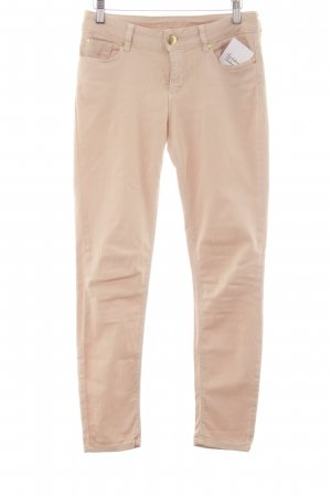 Hallhuber Skinny Jeans creme Casual-Look