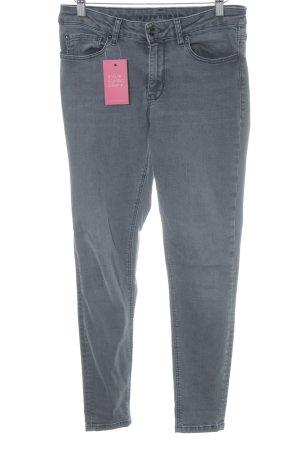 Hallhuber Skinny Jeans dunkelgrau Casual-Look