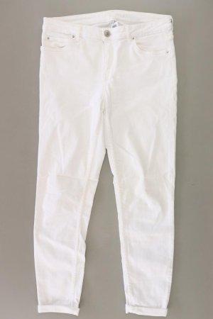 Hallhuber Skinny Jeans Größe 40 weiß aus Baumwolle