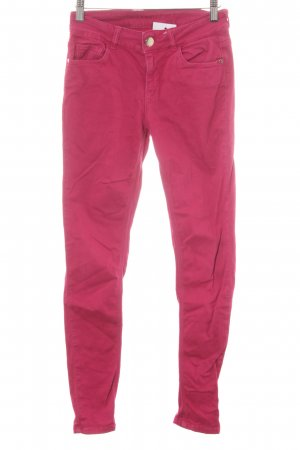 Hallhuber Skinny Jeans pink Casual-Look