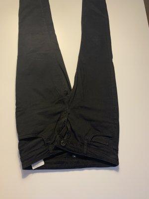 Hallhuber Skinny Jeans schwarz