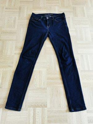 Hallhuber slim fit Jeans skinny Röhre dunkelblau 38