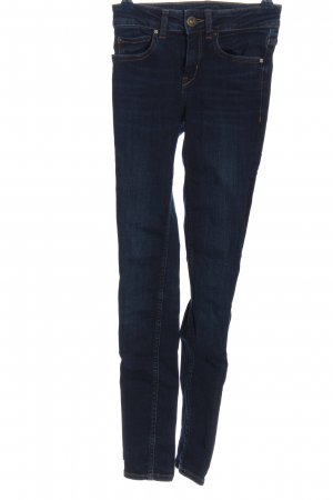 Hallhuber Slim Jeans blau Street-Fashion-Look