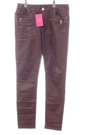 Hallhuber Slim Jeans rot Casual-Look