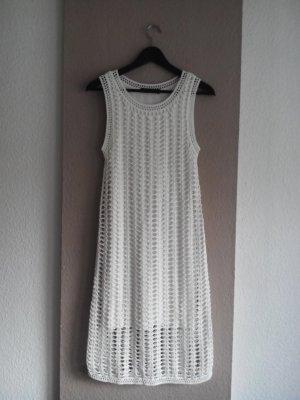 Hallhuber Sommer-Häkelkleid in wollweiß, Größe S