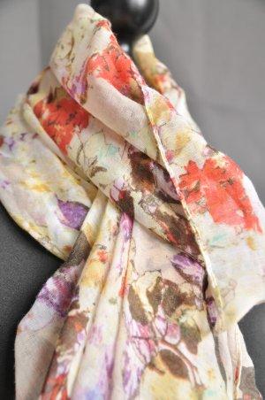 Hallhuber Foulard multicolore viscose