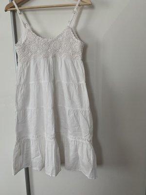 Hallhuber Sommerkleid weiß , Größe 34