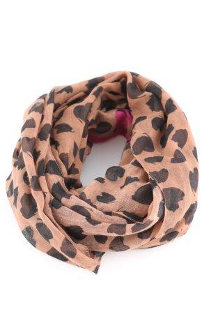 Hallhuber Chal veraniego estampado de leopardo look casual
