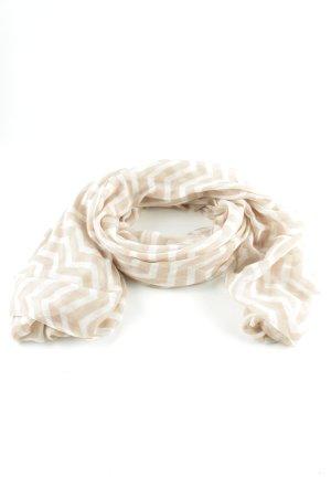 Hallhuber Chal veraniego blanco puro-blanco look casual
