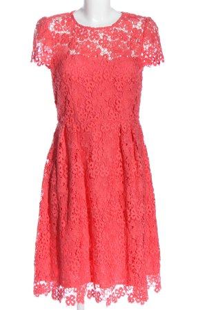 Hallhuber Spitzenkleid pink Elegant