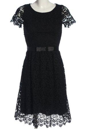 Hallhuber Spitzenkleid schwarz Elegant
