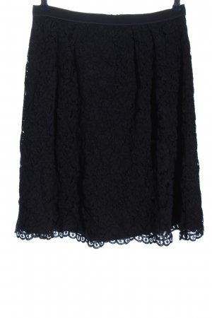Hallhuber Lace Skirt black casual look