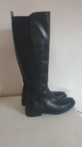 Halluber Stretch Boots black