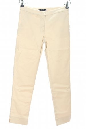 Hallhuber Stoffhose creme Casual-Look