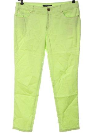 Hallhuber Jersey Pants green casual look