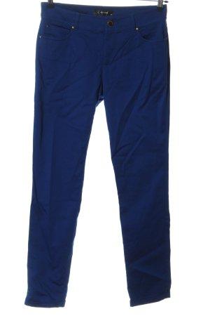 Hallhuber Stoffhose blau Casual-Look