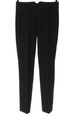 Hallhuber Pantalon en jersey noir style d'affaires