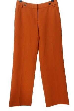 Hallhuber Spodnie materiałowe jasny pomarańczowy W stylu casual