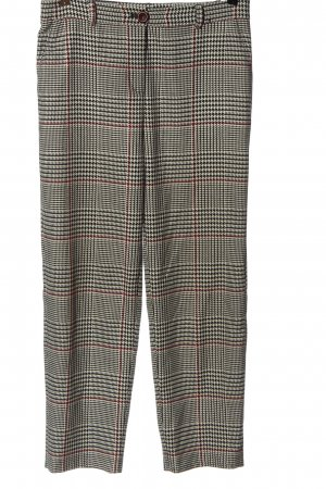 Hallhuber Jersey Pants check pattern casual look
