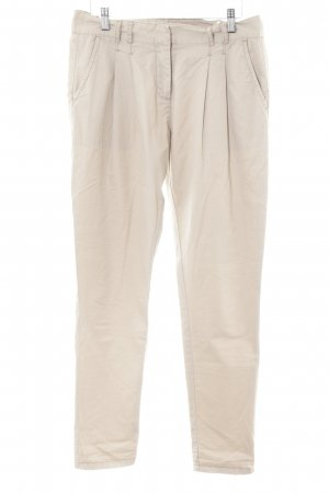 Hallhuber Stoffhose beige Casual-Look
