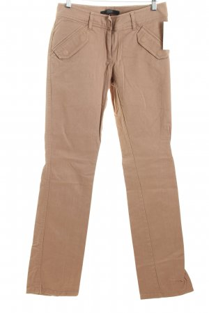 Hallhuber Stoffhose camel Casual-Look
