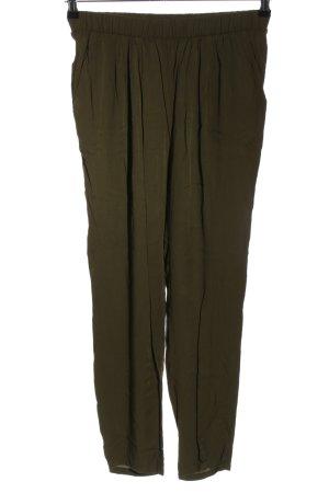 Hallhuber Jersey Pants khaki casual look