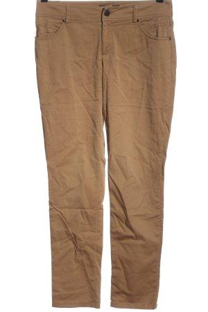 Hallhuber Jersey Pants brown casual look