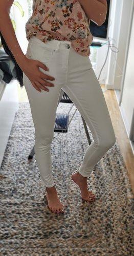 Hallhuber Stoffhose Jeans Skinny Mid Waist Gr. 34