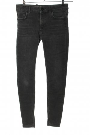 Hallhuber Stretch Jeans schwarz Casual-Look