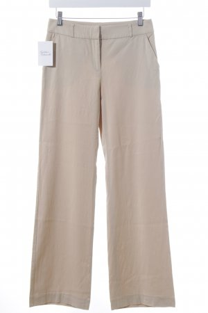 Hallhuber Stretchhose beige Casual-Look