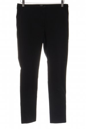 Hallhuber Stretchhose schwarz Business-Look