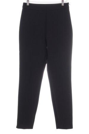 Hallhuber Pantalon strech noir style d'affaires
