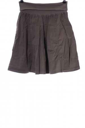 Hallhuber Stretch Skirt brown casual look