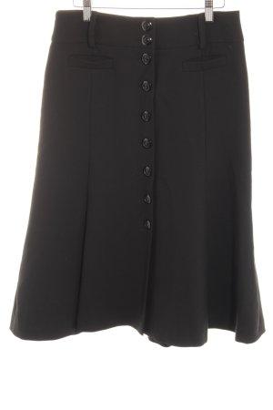 Hallhuber Stretchrock schwarz Elegant