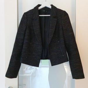 Hallhuber Blazer Tweed negro-gris