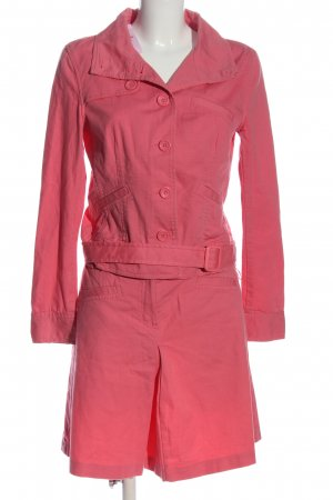 Hallhuber Knitted Twin Set pink casual look